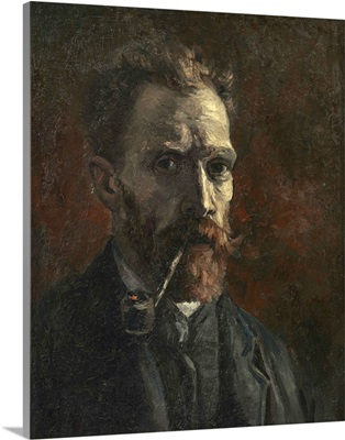 Self-portrait with pipe, 1886