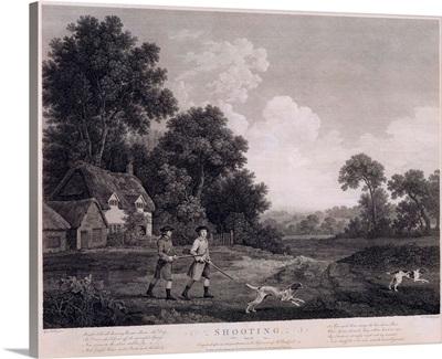 Shooting, plate 2, engraved by William Woollett (1735-85)