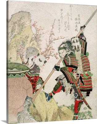 Sima Wengong  and Shinozuka, Lord of Iga , 1821