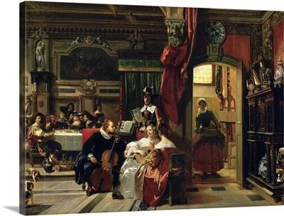 Sir Anthony van Dyck (1599 1641) in London, 1837
