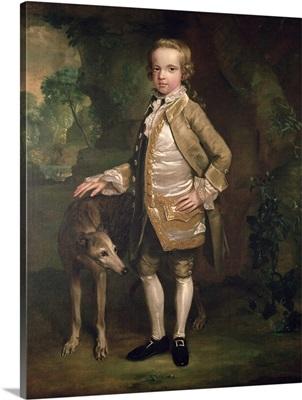 Sir John Nelthorpe, 6th Baronet as a Boy