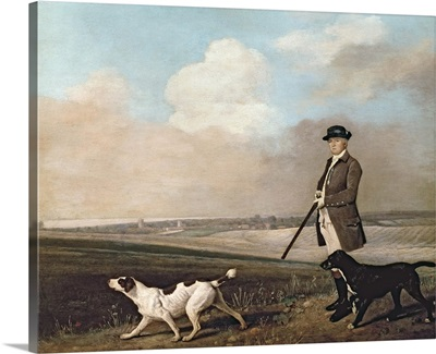 Sir John Nelthorpe, 6th Baronet out Shooting with his Dogs