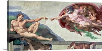 Sistine Chapel Ceiling (1508 12): The Creation of Adam, 1511 12