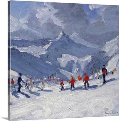 Ski School, Tignes, 2009