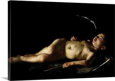 Sleeping Cupid, 1608