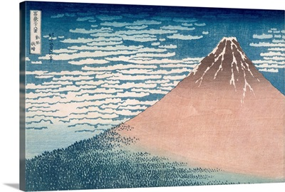 South Wind, Clear Dawn, from the series '36 Views of Mount Fuji', c.1830-1831