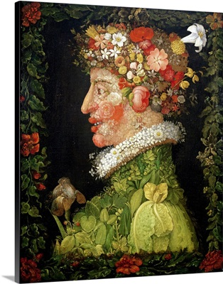 Spring, from a series depicting the four seasons, 1573