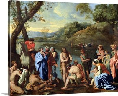 St. John Baptising the People, c.1636-7