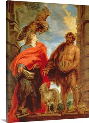 St. John the Baptist and St. John the Evangelist, c.1618-20