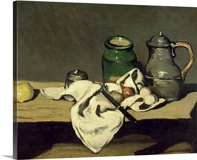 Still Life with a Kettle, c.1869