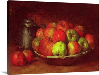 Still Life with Apples and a Pomegranate, 1871 72