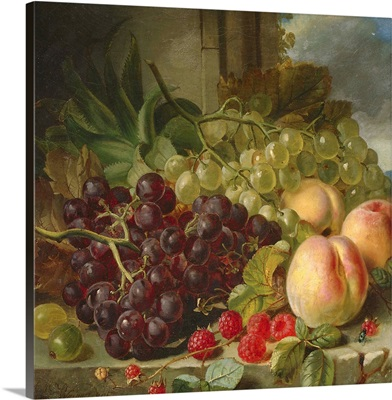 Still Life with Fruit, 1862