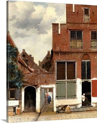 Street in Delft, c.1658