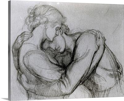 Study for 'The Blessed Damozel', c.1876