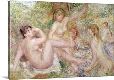 Study for the Large Bathers, 1885 1901