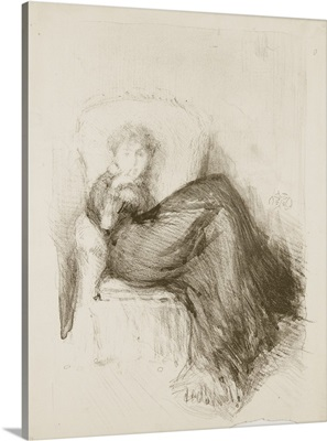 Study: Maud Seated, 1878