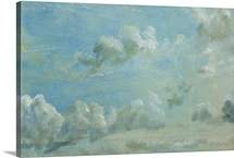 Study of Cumulus Clouds, 1822 (oil on paper laid down on panel)