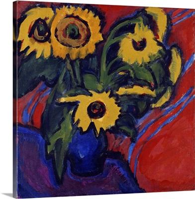 Sunflowers, 1909-18