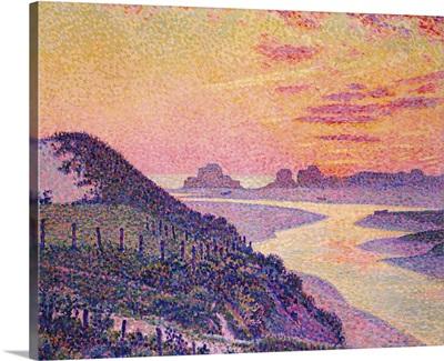 Sunset at Ambleteuse, Pas-de Calais