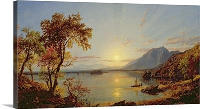 Sunset, Lake George, New York, 1867
