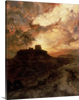 Sunset, Pueblo del Walpe, Arizona, 1880