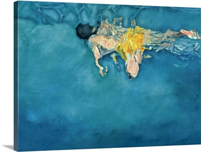 Swimmer in Yellow, 1990