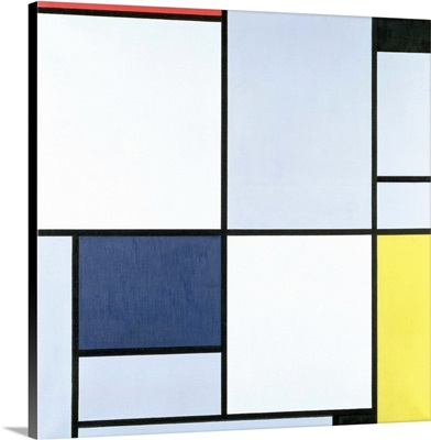 Tableau 1, With Red, Black, Blue And Yellow