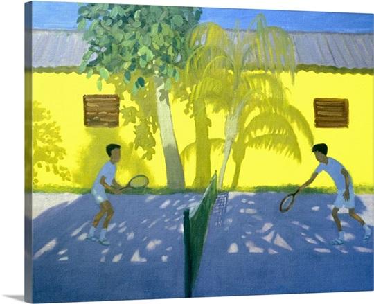 Tennis Cuba, 1998 (oil on canvas)