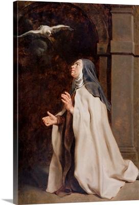 Teresa of Avila's Vision of a Dove, c.1614