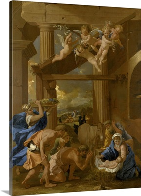 The Adoration Of The Shepherds, C1633
