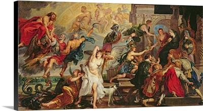 The Apotheosis of Henri IV and the Proclamation of the Regency of Marie de Medici
