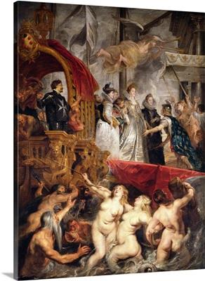 The Arrival of Marie de Medici in Marseilles, 3rd November 1600, 1621 25