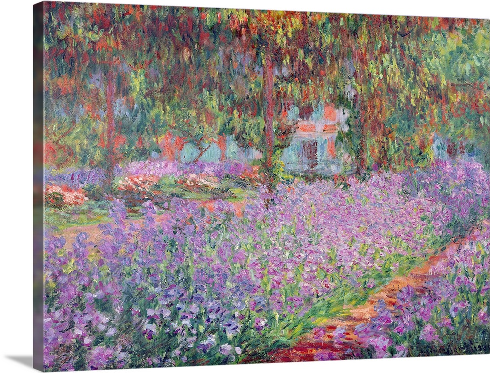 The Artists Garden at Giverny, 1900