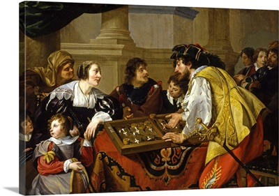 The Backgammon Players, 1634
