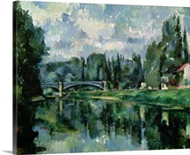 The Banks of the Marne at Creteil, c.1888 (oil on canvas)