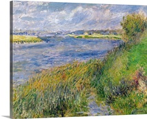 The Banks of the Seine, Champrosay, 1876 (oil on canvas)