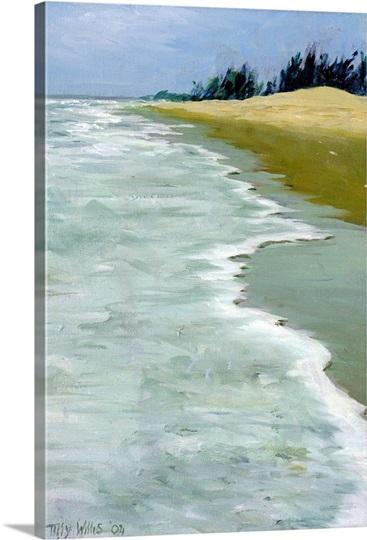 The Beach, 2004 (oil on canvas)