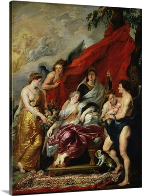 The Birth of Louis XIII (1601 43) at Fontainebleau