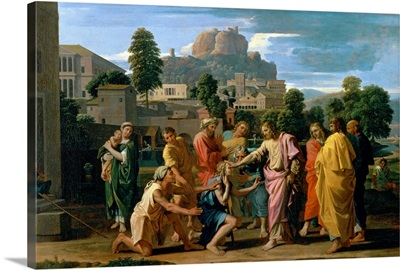 The Blind of Jericho, or Christ Healing the Blind, 1650