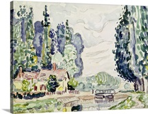 The Blue Poplars, 1903