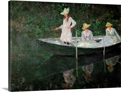 The Boat at Giverny, c.1887