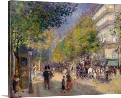 The Boulevards , 1875