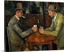 The Card Players, 1890 95 (oil on canvas)