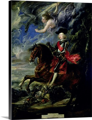 The Cardinal Infante Ferdinand at the Battle of Nordlingen, c.1634