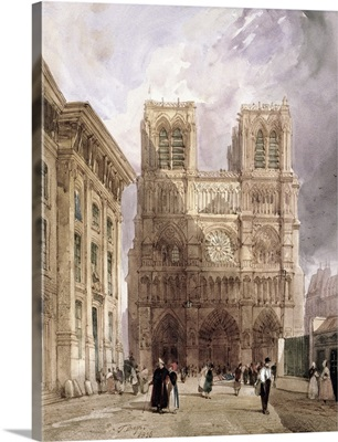 The Cathedral of Notre Dame, Paris, 1836