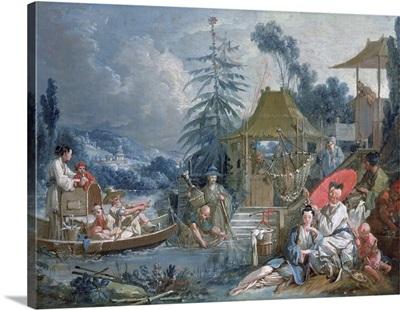 The Chinese Fishermen, c.1742