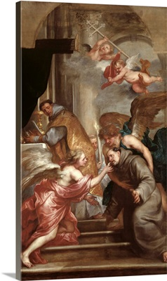 The Communion of St. Bonaventure (1221 74)