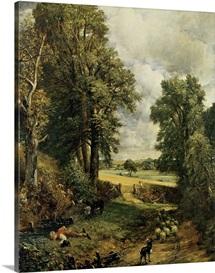 The Cornfield, 1826 (oil on canvas)