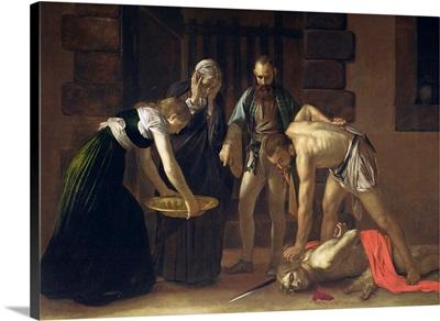 The Decapitation of St. John the Baptist, 1608