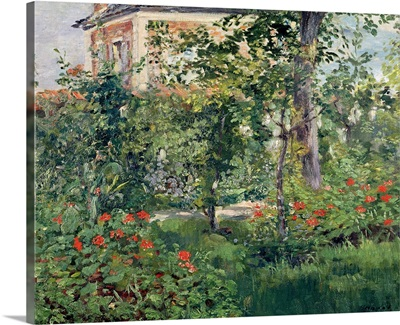 The Garden at Bellevue, 1880
